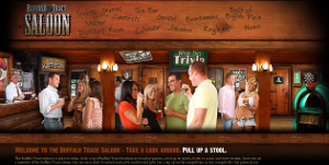 Buffalo Trace Saloon website review
