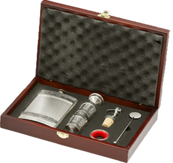 Personalised Delux Whiskey Prentation Gift Set