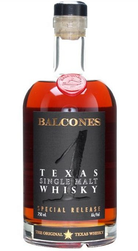 Balcones 1 Texas Single Malt