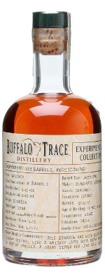 Buffalo Trace 1993 Experimental Collection bourbon whisky