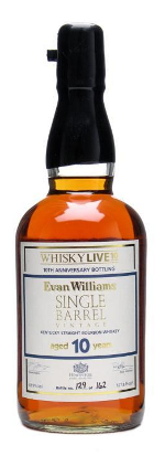 Evan Williams 1999 Single Barrel bourbon whisky