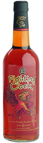 Fighting Cock bourbon whisky