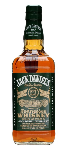 Jack Daniels Green Label whiskey