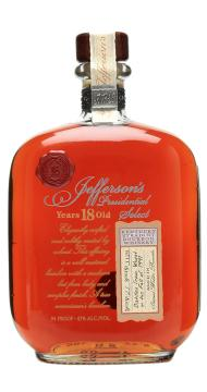 Jefferson's Presidential Select 1991 18 Year Old bourbon whisky