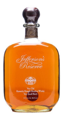 Jefferson's Reserve Very Old bourbon whisky