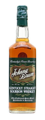 Johnny Drum Green Label bourbon whisky