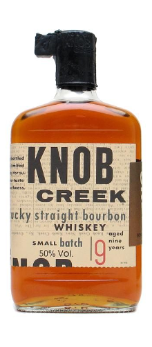Knob Creek bourbon whisky