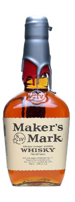 Maker's Mark bourbon whisky Red Silver Wax edition