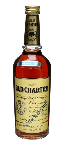 Old Charter Bourbon 7 Year Old Bottled 1970s