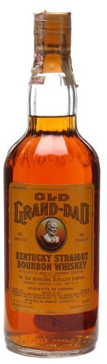 Old Grand Dad Bottled 1980s