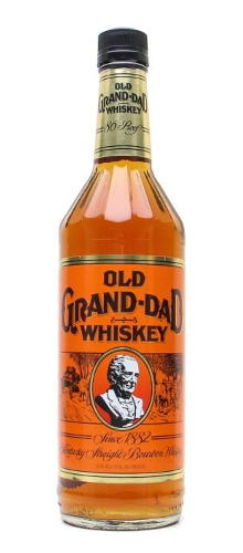 Old Grand Dad bourbon whisky