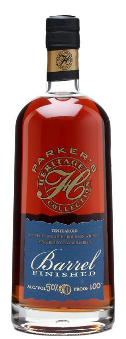 Parker's Heritage Collection Barrel Finished bourbon whisky