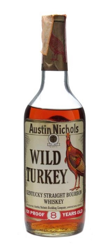 Wild Turkey 101 Proof Bottled 1970s