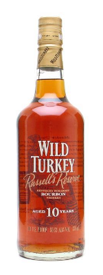 Wild Turkey Russells Reserve 10 Year Old bourbon whisky