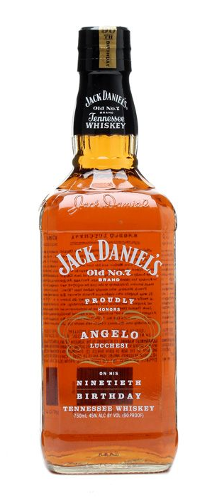 Jack Daniel's Angelo Lucchesi 90th Birthday