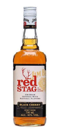 Jim Beam Red Stag bourbon whisky