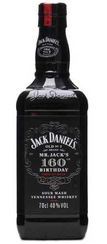 Jack Daniel's 160th Birthday Whiskey prices
